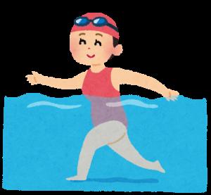 水泳のイラスト