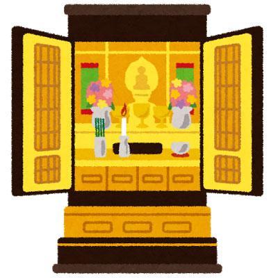 仏壇イラスト