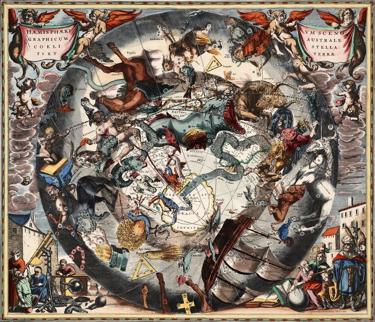 星座の起源はいつ?古の文明や数ある謎を解明!北斗七星は非公式!?