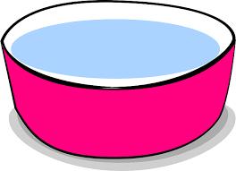 容器に入った水のイラスト