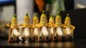 バナナのキャラクター