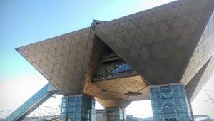 国際ロボット展の建物2