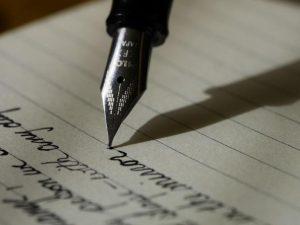 文字とペン