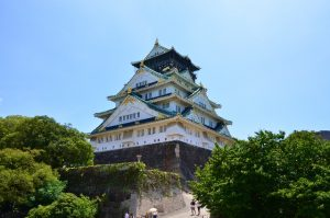 大阪とお城