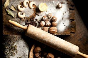 小麦粉と材料