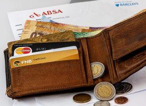 財布と小銭