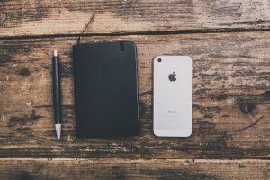 携帯と小物