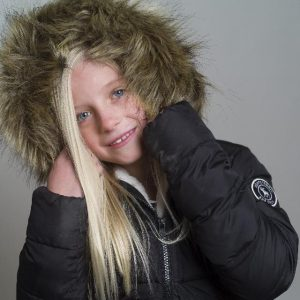 冬服の少女