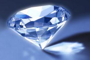 光るダイヤ