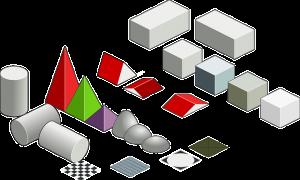 多数の多角形