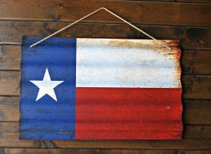 テキサスの旗