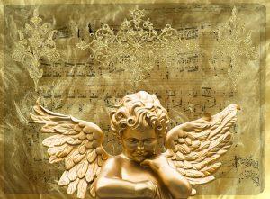 金色の天使