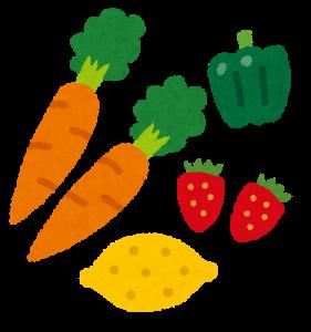 食黄色野菜