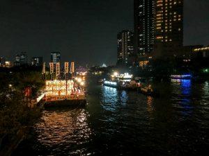 天神祭りの船